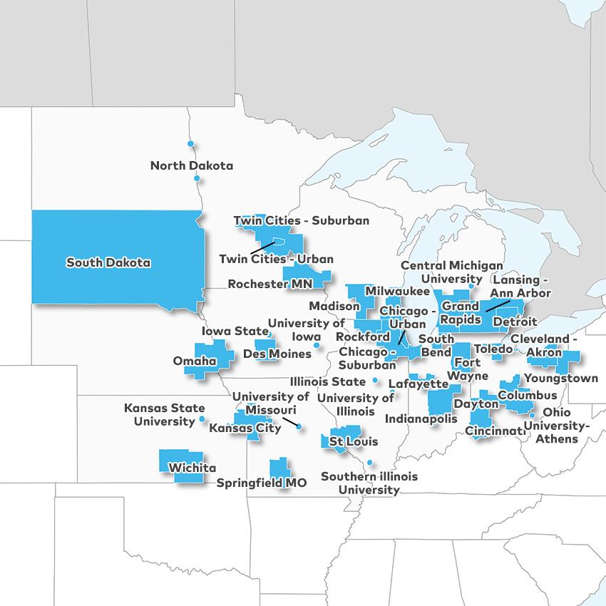 Real Estate Market Data Gt Region Midwest