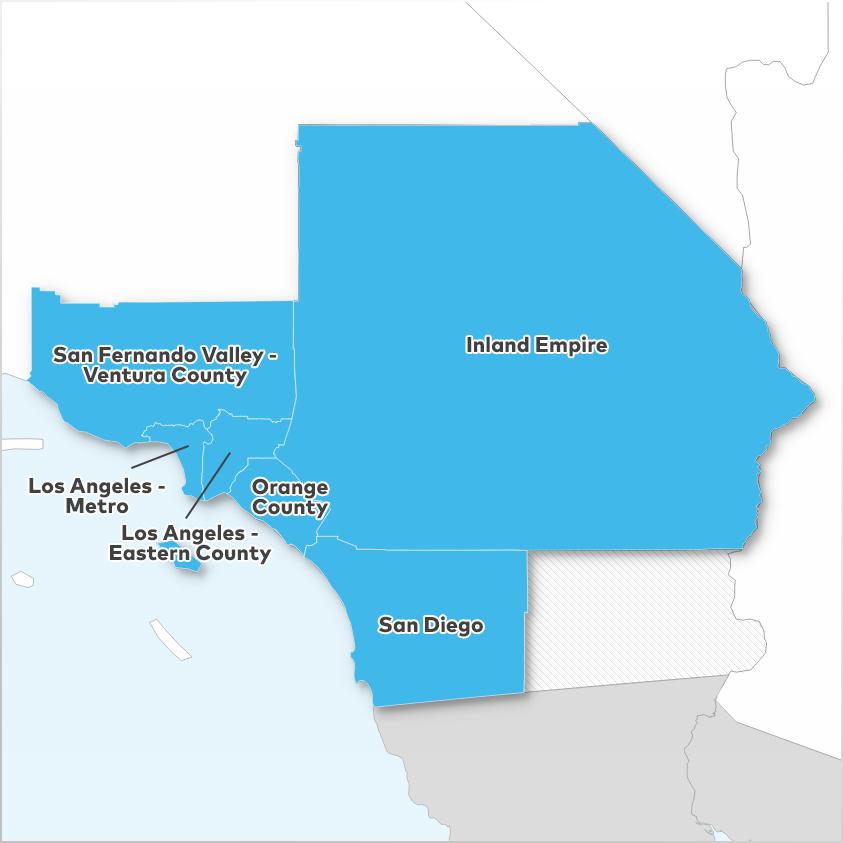 Real Estate Market Data Region Southern California