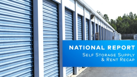 Yardi Matrix National Self Storage Report January 2021