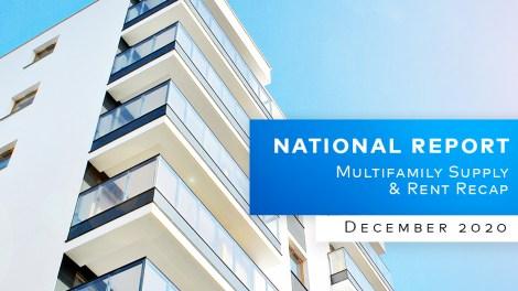 Yardi Matrix National Multifamily Market Report December 2020