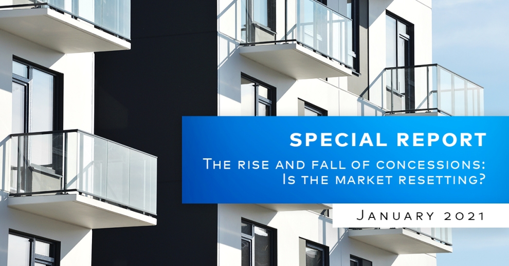 Yardi Matrix Special Report Multifamily Concession Trends