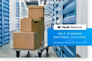 Yardi Matrix Self Storage Webinar Spring 2021