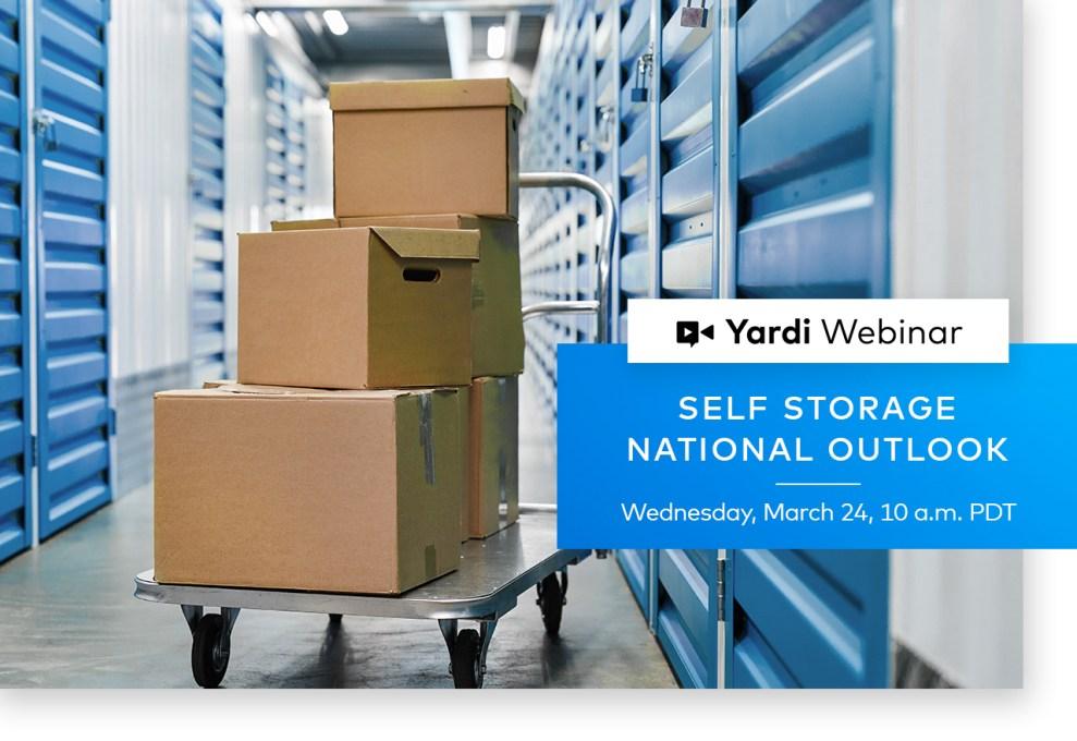 Yardi Matrix Self Storage Webinar Spring 2021