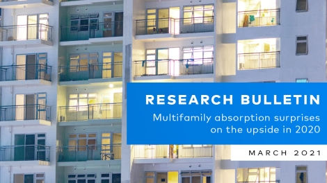 Yardi Matrix Bulletin Multifamily Absorption