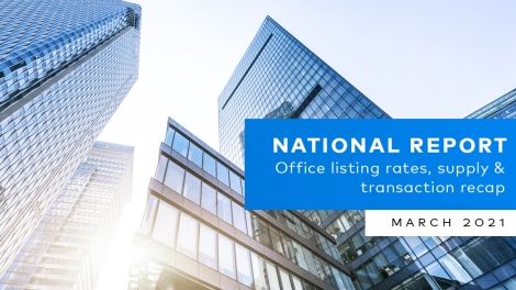 CommercialEdge Office National Report – March 2021