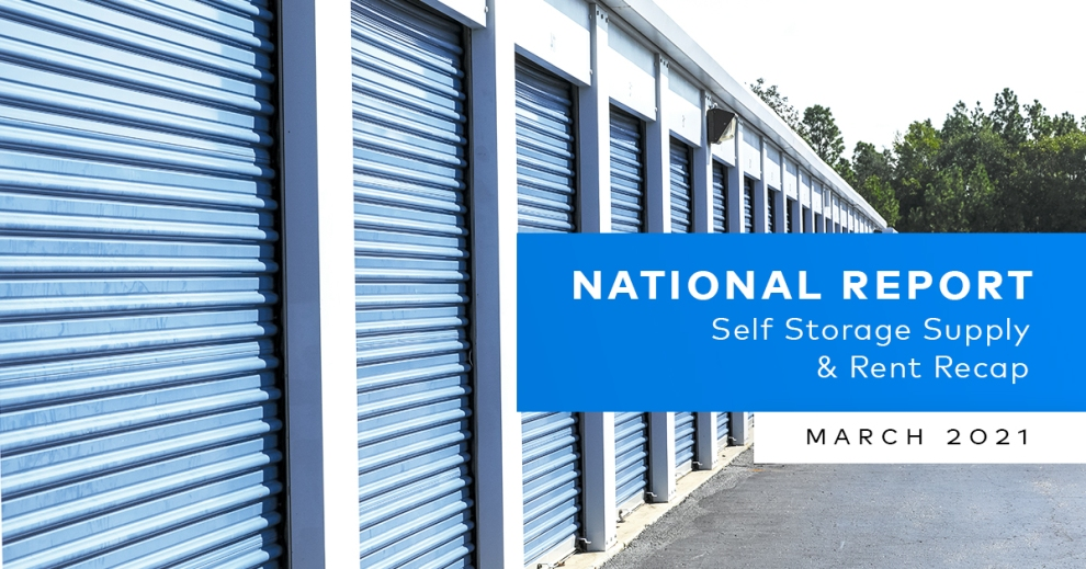 Yardi Matrix Self Storage Report February 2021