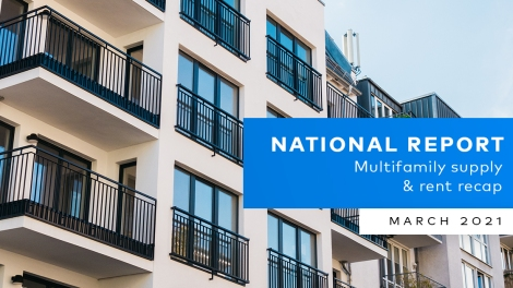 Yardi Matrix National Multifamily Report March 2021