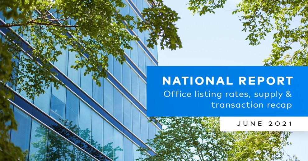 Yardi Matrix Office National Report June 2021