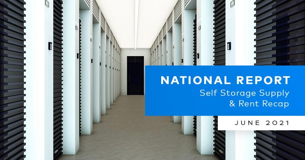 Yardi Matrix Self Storage National Report June 2021