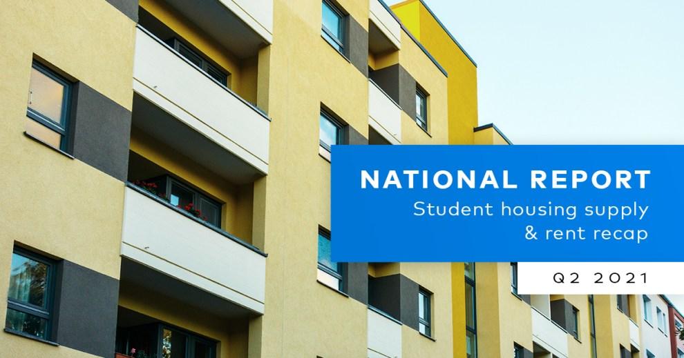 Yardi Matrix Student Housing Report 2021-Q2