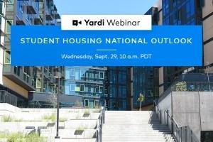 Yardi Matrix Student Housing National Outlook Fall 2021