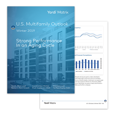 U.S. Multifamily Seasonal Outlook